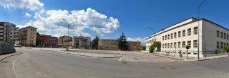 3 -Benevento. Piazza Risorgimento, progettata in età fascista