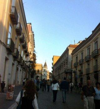 4- Benevento. Il Corso Giuseppe Garibaldi