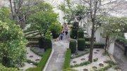 42 -Salerno. Il giardino della Minerva visti dall'alto.