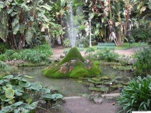 43 -Salerno. Il giardino della Minerva dall'alto.
