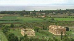 45 -Salerno. Una veduta panoramica dell'Area Archeologica di Paestum