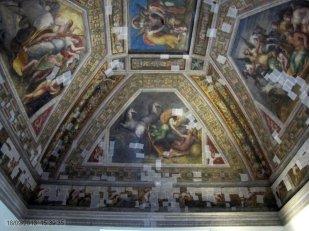 12 - Ferrara. Castello_estense_int_,_sala_dell'aurora,_affreschi_di_ludovico_settevecchi_e_leonardo_da_brescia_(1574-75)_02
