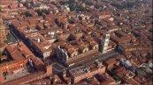 14 --Ferrara-Panorama sulla Cattedrale e centro storico.