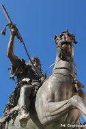 7 Piazza-Cavalli-Piacenza. Monumento di Francesco Mochi a Ranuccio Farnese.