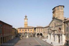 14 Reggio Emilia. La piazza Prampolini o del Duomo