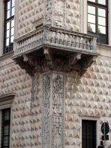 30 -Ferrara - Palazzo dei Diamanti, dettaglio