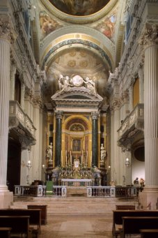 40 -Bologna. Chiesa di Santa Maria della Vita, interno