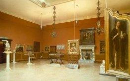 26 -La Galleria Parmeggiani, interno il salone centrale