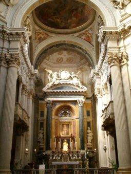 41 - Bologna. Chiesa di Santa Maria della Vita, interno
