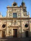 30 -Parma - Abbazia di S. Giovanni Evangelista. La facciata marmorea della chiesa fu disegnata da Simone Moschino in stile tardo manierista nel 1604 e completata nel 1607 con la sovrintendenza di Giovanni Battista Carrà detto il Bissone. Il campanile, probabile opera di Giovanni Battista Magnani, presente sul lato destro, fu aggiunto nel 1613. Con un'altezza di 75 metri è il più alto di Parma.