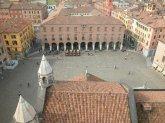 3 -Modena, panorama su piazza grande.