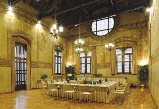39 -Reggio Emilia - Palazzo del Capitano, interno la sala Capitano del popolo