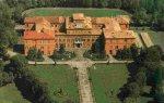 40 -Parma,Veduta aerea negli anni '70 sul Palazzo del Giardino