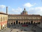 11 -Bologna. Piazza-Maggiore Verso il Palazzo dei Banchi