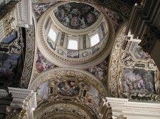 46 -Reggio Emila basilica della Ghiara. Le volte affrescate e la cupola