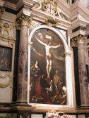"""47 -Reggio Emila basilica della Ghiara. Il comune di Reggio Emilia commissionò al Guercino un'opera che oggi è ritenuta un capolavoro dalla critica: la """"Crocefissione di Cristo, con ai piedi la Madonna e i Santi Maria Maddalena, San Giovanni e San Prospero."""