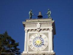 27 -Udine-Torre dell'orologio, dettaglio.
