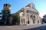 34 -Udine. Duomo di Santa Maria Annunziata Edificato a partire dal 1236 per volere del patriarca Bertoldo di Andechs-Merania. La costruzione venne ultimata in un centinaio di anni. A fianco del Duomo si trova il campanile con il battistero, sede di un piccolo Museo del Duomo.