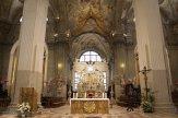 37 -Udine. L'interno del duomo, particolare-presbiterio