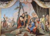 44 -Udine, particolare dipinto Giovanni Battista Tiepolo