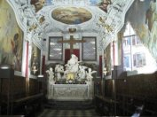 55 -Udine, interno Palazzo del Monte di Pietà Cappella di Santa Maria Del Monte