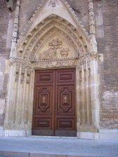 15 -Udine. Il portale principale delle cattedrale.