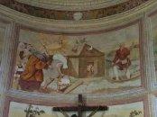 21 -Pordenone Santa Trinità interno di Giovanni Maria Zaffoni, Diluvio universale ed arca di Noè.