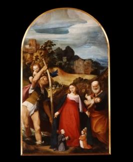 9 -Pordenone-Duomo di San Marco, interno Giovanni-antonio-de-sacchis-detto-il-pordenone-pala-della-misericordia-olio-su-tela-del-1515-16-