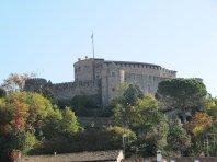 7 - Gorizia. Vista del Castello da piazza vittoria
