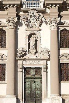 44 -Chiesa di Sant'Ignazio a Gorizia, facciata