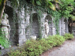 23 -Gorizia.Statue al parco Coronini