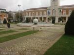 6 -Latina. Fontana della palla.I giardini di Piazza del Popolo.