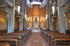 18 -Latina. L'interno del Santuario Madonna delle Grazie e S. Maria Goretti