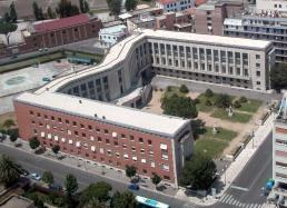 22 -Palazzo Emme a Latina dall'alto