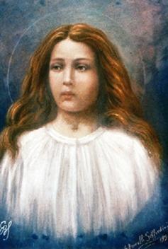 19 -Maria Goretti, in un dipinto del 1929