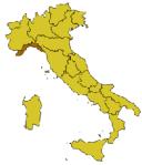 Pszozione geografica della Liguria