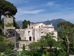 8 -Ravello. Veduta di Villa Rufolo