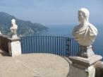 46 -Ravello. Terrazza dell'infinito della Villa Cimbrone, particolare