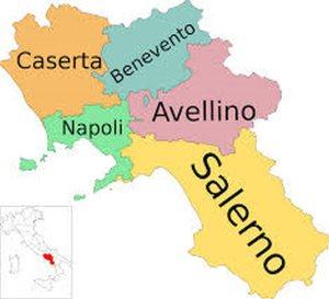 Province della re. Campania