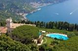 36 -Ravello. Hotel e Villa Cimbrone, altra veduta