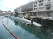 100 -Il Galata − Museo del mare. dettaglio del sommergibile -s-518-nazario-sauro.