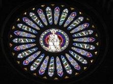91 -Genova. il-rosone-della-cattedrale, dettaglio