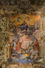 54 -Genova, palazzo ducale cappella_dogale_affresco_a_soffitto
