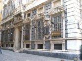 60 -Genova-Via-Garibaldi. palazzo. Il palazzo Pallavicini-Cambiaso o palazzo Agostino Pallavicini è un edificio sito in via Garibaldi al civico 1 nel centro storico di Genova, inserito il 13 luglio del 2006 nella lista tra i 42 palazzi iscritti ai Rolli di Genova divenuti in tale data Patrimonio dell'umanità dall'UNESCO.