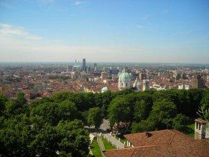1- Brescia, panoramica dal castello. Turismo Brescia