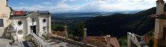 22 -Il museo Baroffio al Sacro Monte con panorama sul territorio di Varese