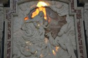 14 -Pavia - Il Duomo interno l' Altare di san Siro, dell'Orsolino
