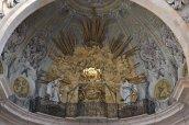 """15 - Pavia. Il Duomo- interno, decorazione barocca della """"macchina"""" delle spine"""
