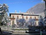 14 -Sondrio. Villa Quadrio sorta nel 1862 dove ha sede la biblioteca civica intitolata nel 1930 a Pio Rajna, filologo e letterato italiano.