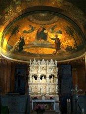 18 -Pavia. Basilica di San Pietro in Ciel d'Oro, interno